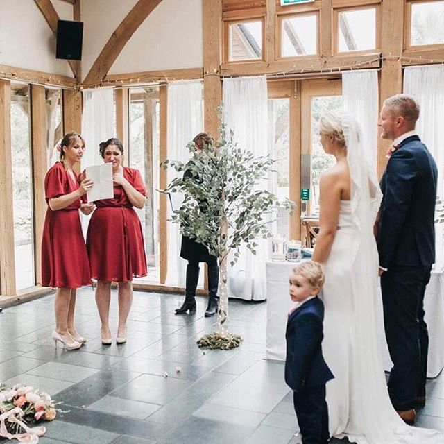 A reading from the heart brings tears to the eyes. If you are currently planning your ceremony I highly recommend asking friends a family to do a reading and let them pick, a wonderful surprise to hear what they chose.  Pic by @free_the_tribe bridesmaids by @rewrittenbridesmaids wedding dress by me! #consciousbride #ecobride #ethicalwedding #ethicalbride #indiebride #shopethicalinstead #naturalbride #ecowedding #coolbride #stylishbride #modernbride #bridetobe #greenwedding #shopsmall #madeinbritain #handmadewithlove #bohobride #bohemianwedding #ethicalfashion #ecoweddinginspiration #bridesmaids #sustainablefashion #sustainablebride #sustainablewedding #ecowedding #indiewedding #naturalbride #naturalwedding