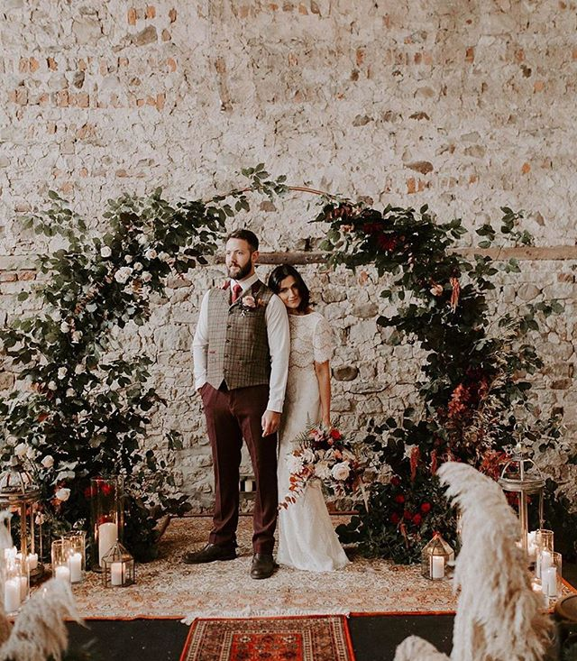 A stunning shoot featuring the @lunabride collection love this floral arch. Still loving floral arches? ⠀⠀⠀⠀⠀⠀⠀⠀⠀ ⠀⠀⠀⠀⠀⠀⠀⠀⠀ Photography: @jessica.jphotography⠀⠀⠀⠀⠀⠀⠀⠀⠀ Floral + Event design, Styling + Props: @forge_events⠀⠀⠀⠀⠀⠀⠀⠀⠀ Venue: @camp_katur⠀⠀⠀⠀⠀⠀⠀⠀⠀ Stationery: @graystarlingdesigns⠀⠀⠀⠀⠀⠀⠀⠀⠀ Desserts + Cakes: @wheretheribbonends⠀⠀⠀⠀⠀⠀⠀⠀⠀ HMUA: @brittanyjaemua⠀⠀⠀⠀⠀⠀⠀⠀⠀ Groom Attire: @dandythreads⠀⠀⠀⠀⠀⠀⠀⠀⠀ Bride's Dress: Lolita via @luna_bride⠀⠀⠀⠀⠀⠀⠀⠀⠀ Jewellery: @aliceclarkejewellery⠀⠀⠀⠀⠀⠀⠀⠀⠀ Male Model: @danbeecroft1⠀⠀⠀⠀⠀⠀⠀⠀⠀ Female Model: Richelle Schuster #consciousbride #ecobride #ethicalwedding #ethicalbride #indiebride #shopethicalinstead #naturalbride #ecowedding #coolbride #stylishbride #modernbride #bridetobe #greenwedding #shopsmall #madeinbritain #handmadewithlove #bohobride #bohemianwedding #ethicalfashion #ecoweddinginspiration #bridesmaids #sustainablefashion #sustainablebride #sustainablewedding #ecowedding #indiewedding #naturalbride #naturalwedding