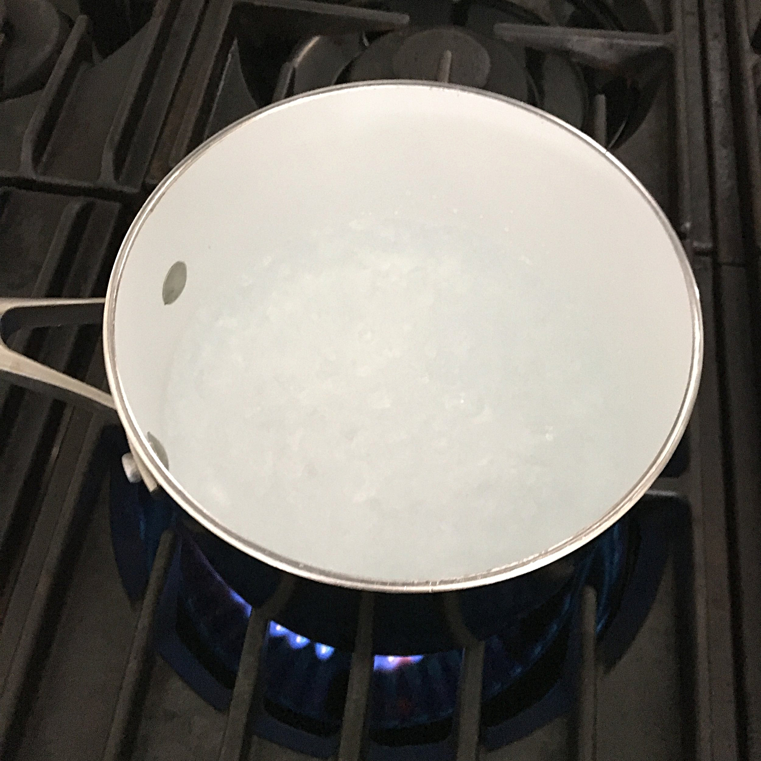 Step 1: Bring a pot of water to a boil