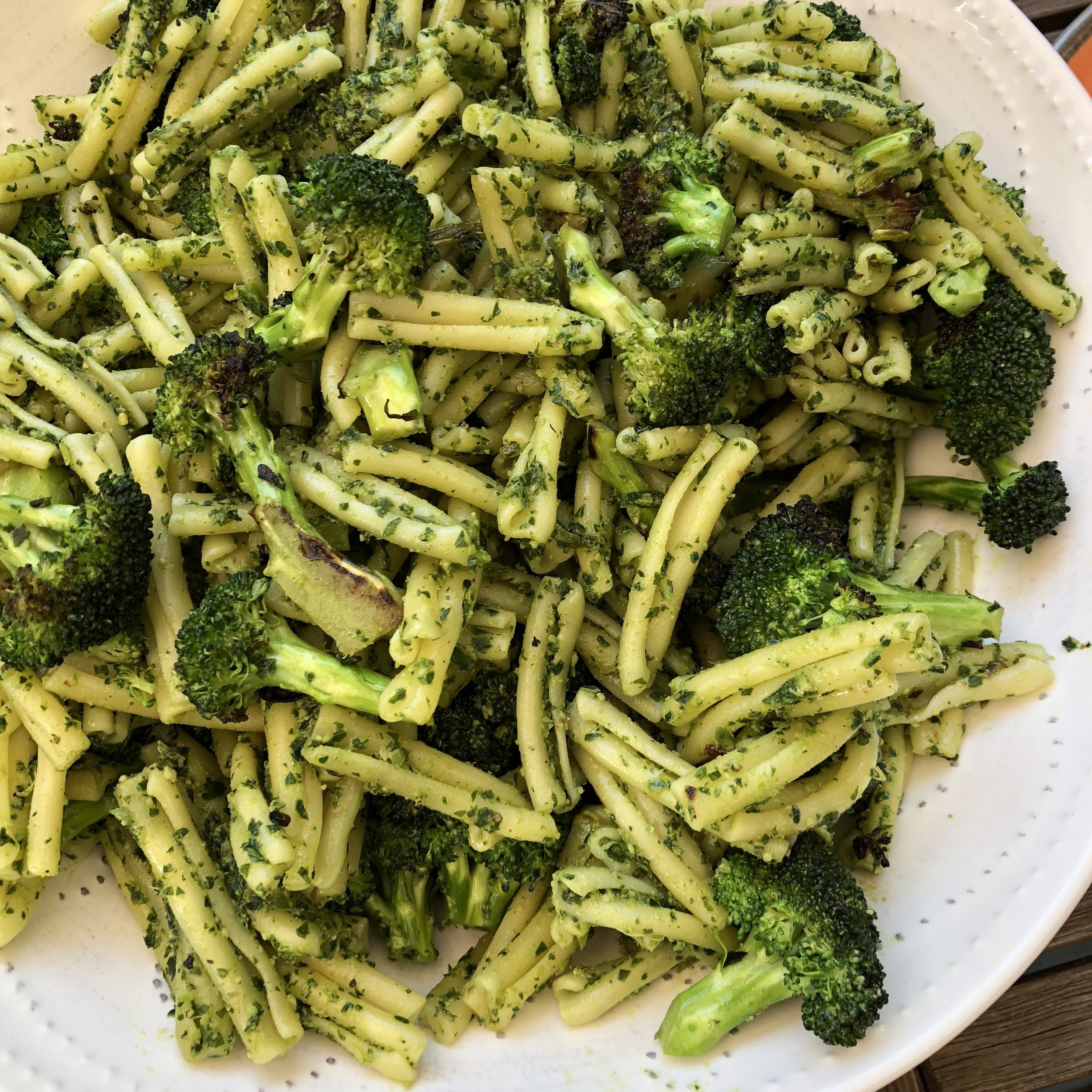 Pasta Pesto and other grain salads