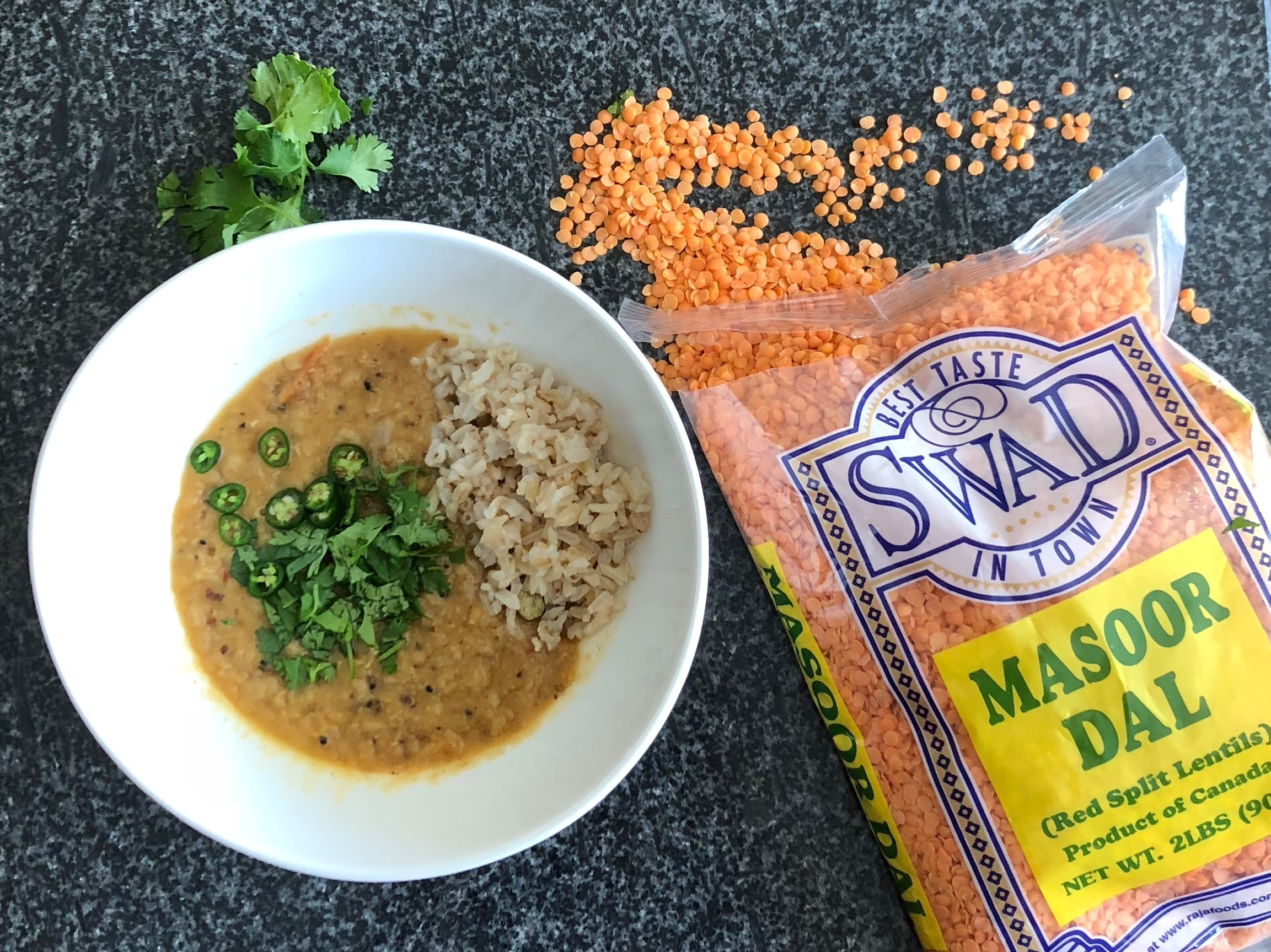 Red Lentils (and  Bengali Red Lentil Dal )