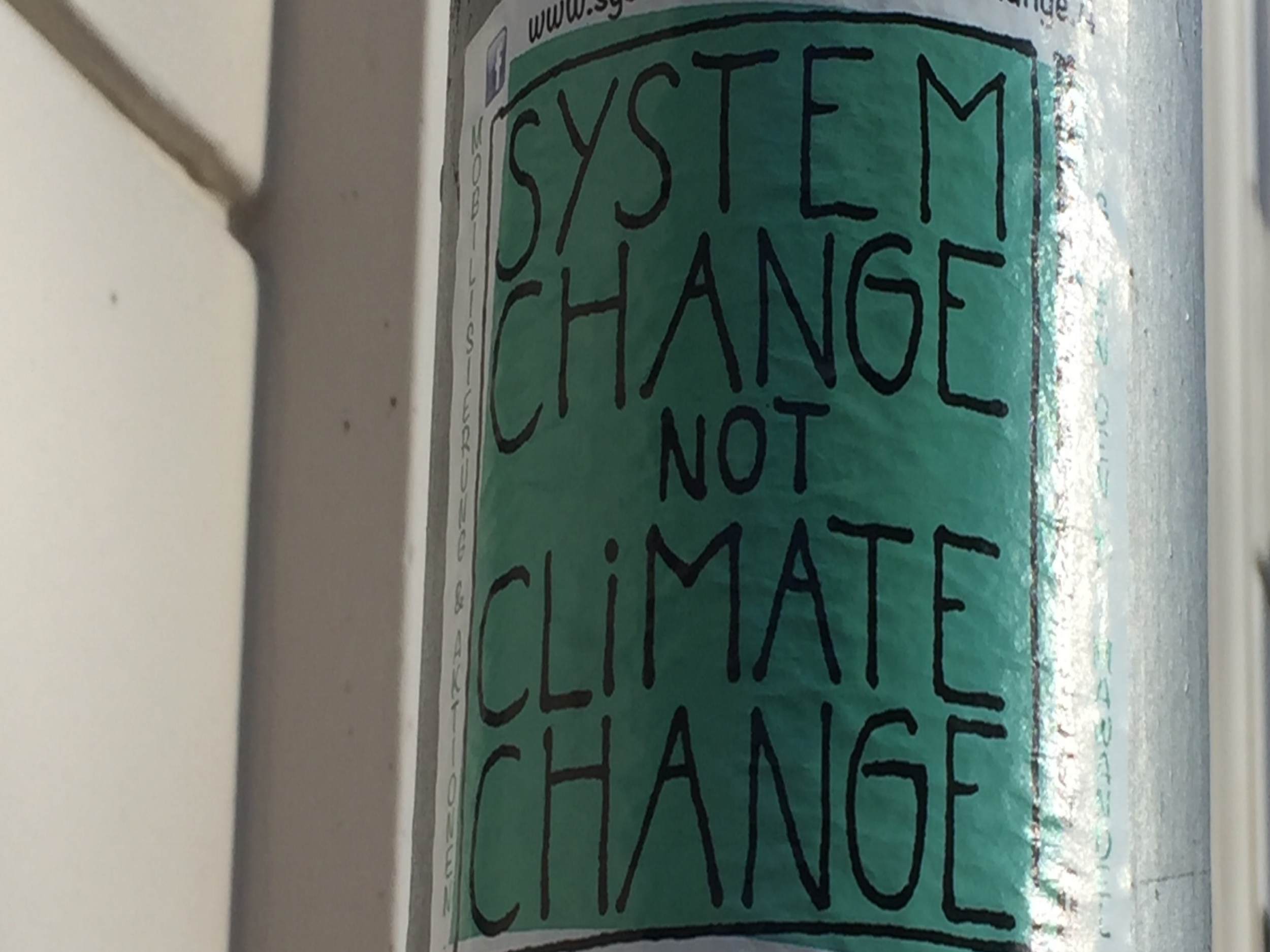 Copy of System Change Not Climate Change - Ashville, NC