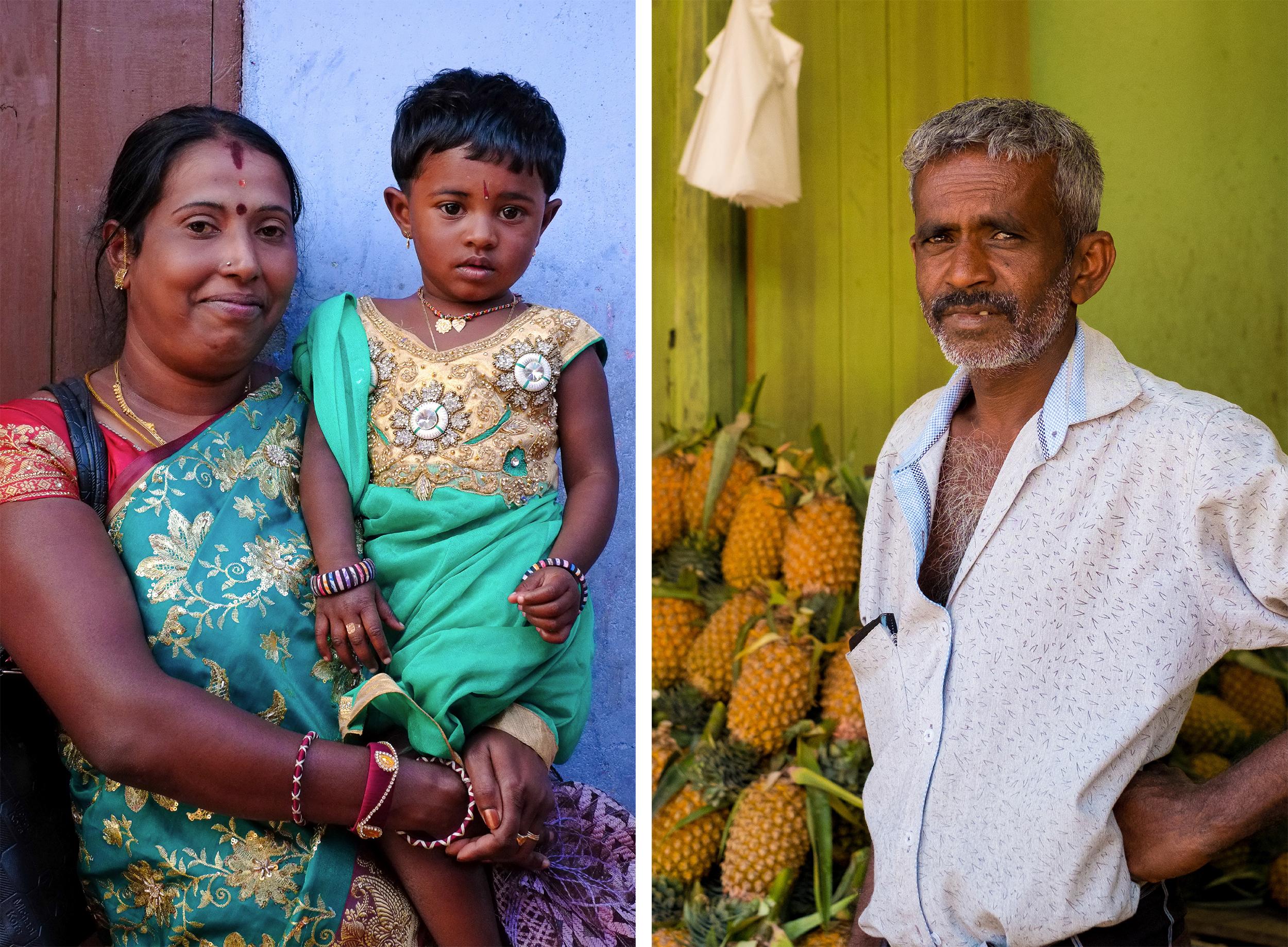 Street life in Sri Lanka