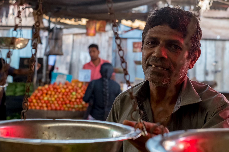Market seller, Nuwara Eliya