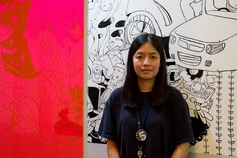 Zilin Yee, photo by Kirsten Murray