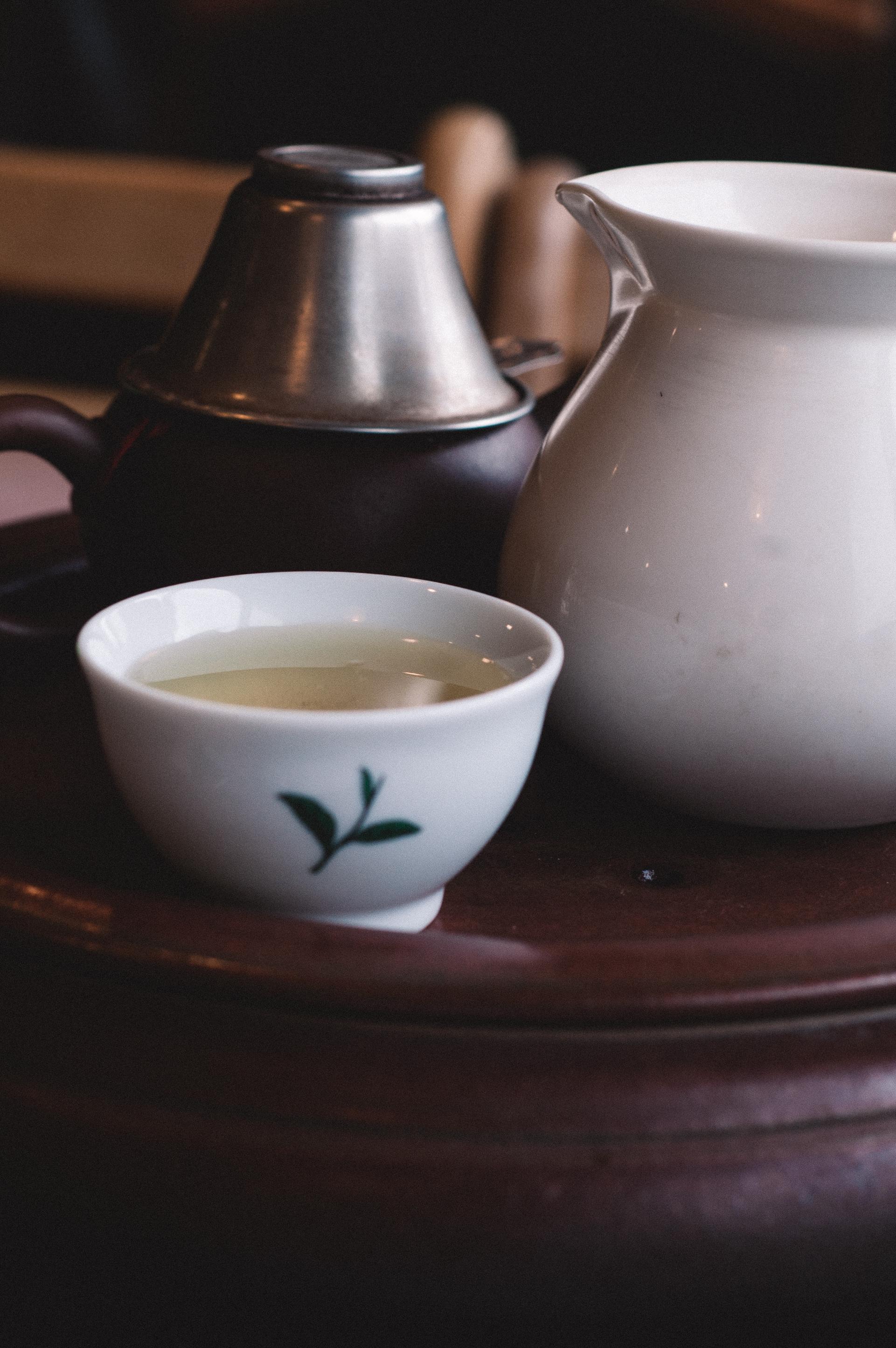 My fancy tea setting