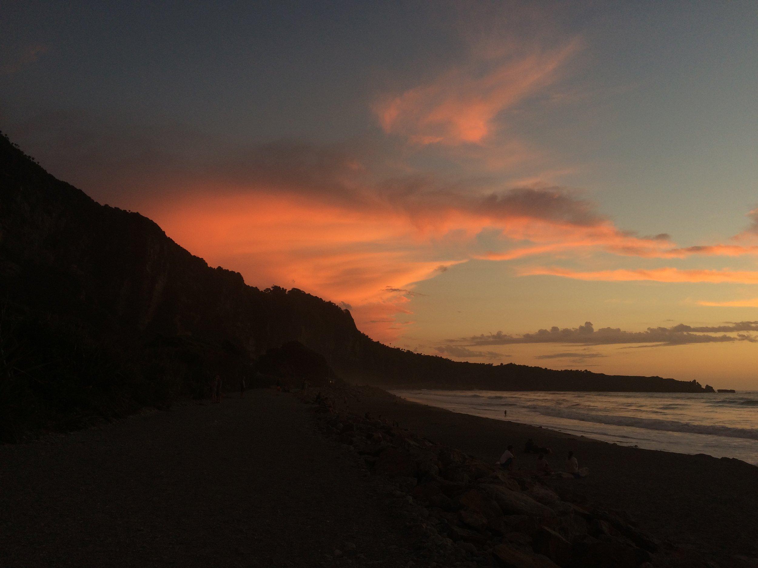 West coast, best coast for epic sunsets.