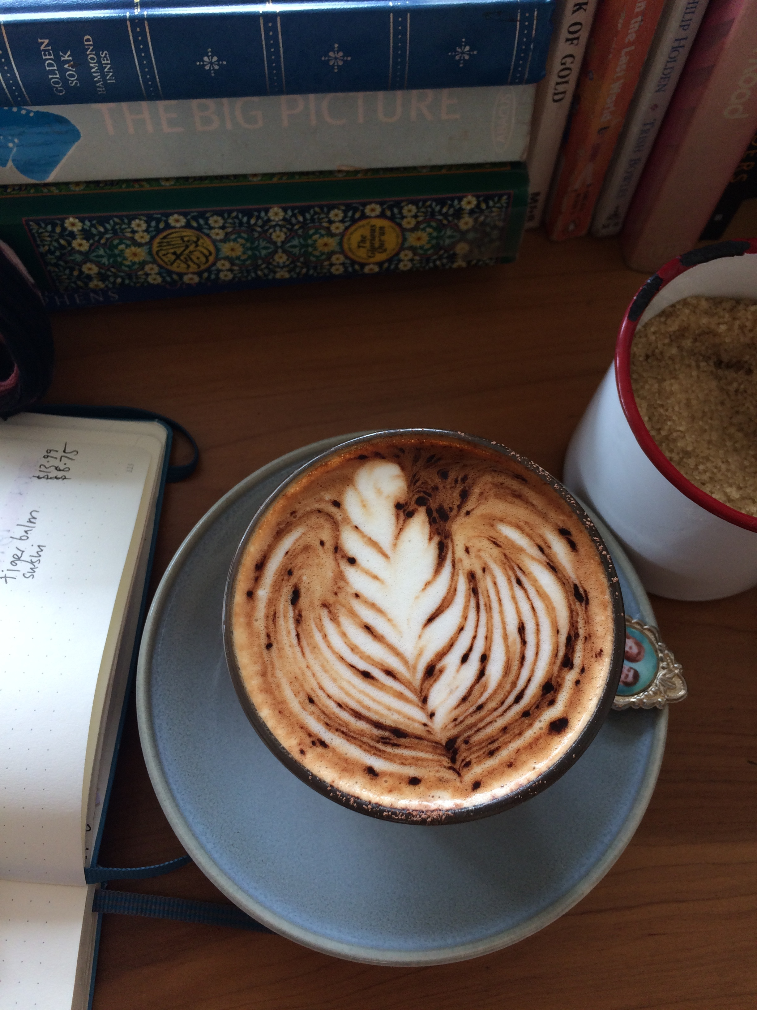 Gorgeous Coffee at Morning Magpie, Dunedin
