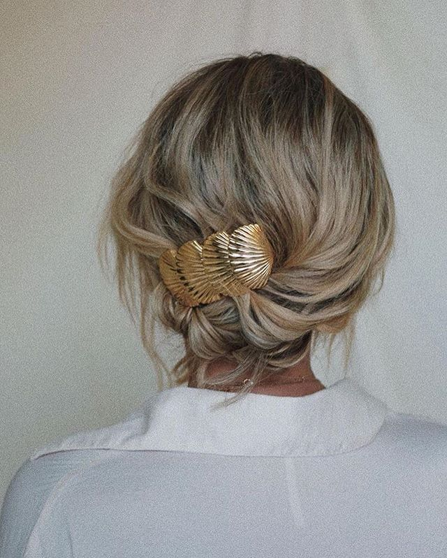 Which is your hair accessory of the summer, clips or (swipe →) scarves?  New is cool and all but there's nothing like finding the perfect vintage piece at thrift stores—and giving them a good spiffing up before our hair has the pleasure of donning them, of course. | photos via @pinterest