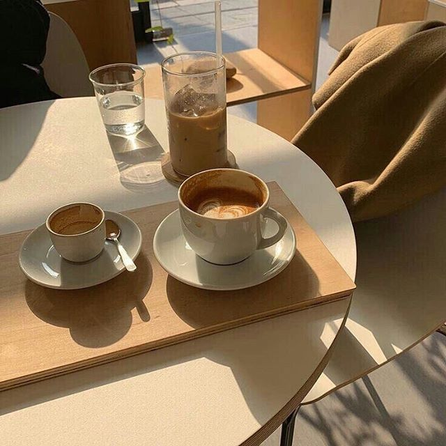 Very much looking forward to a weekend cappuccino. ☕️ If you're with us on that one, order your drink to stay to avoid single-use plastic—even Starbucks offers this as an option! Espresso and milk tastes better that way, anyway. 🖤 | via Pinterest