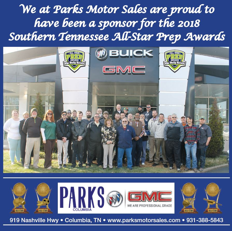 Parks Motor Sales Buick Gmc Title Sponsor All Star Prep Awards