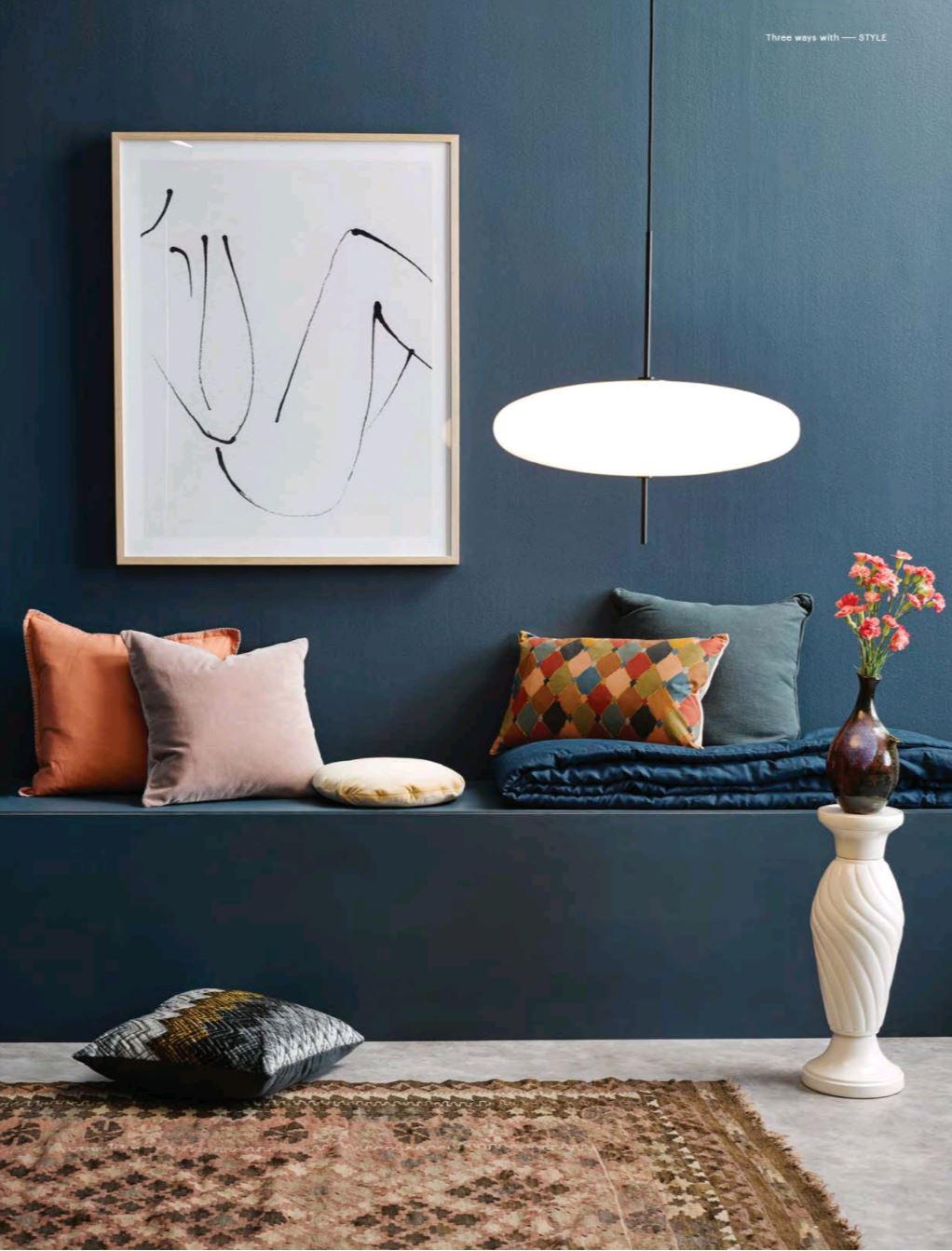 Featured: Astep Model 2065 Pendant Lamp by Gino Sarfatti