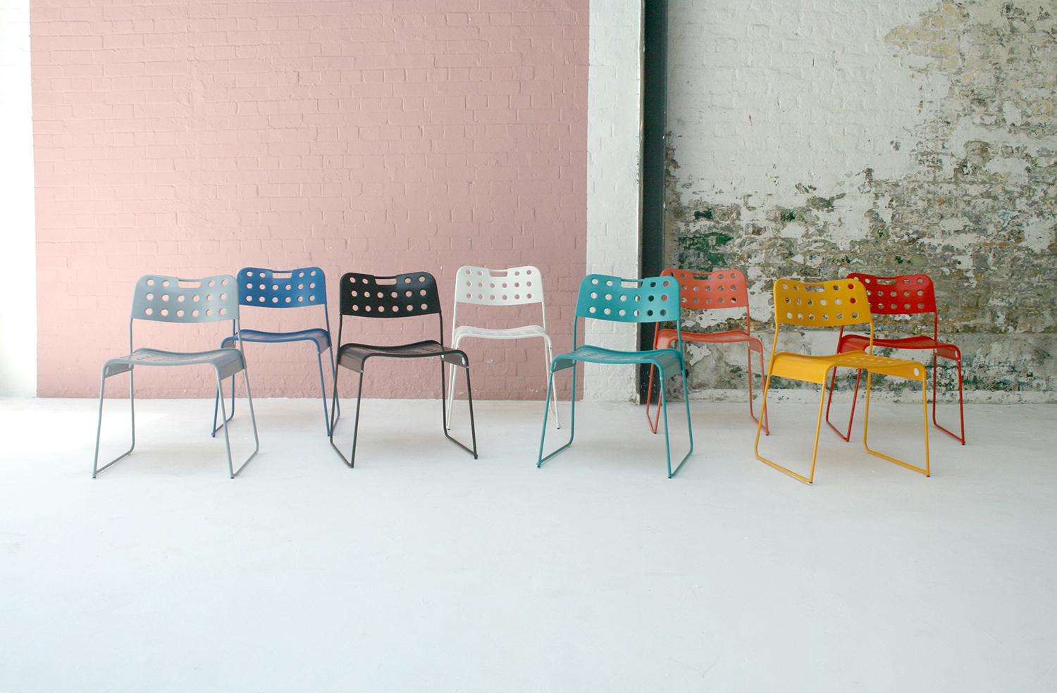 OMK 'OMKstak' Chair - Designed 1971