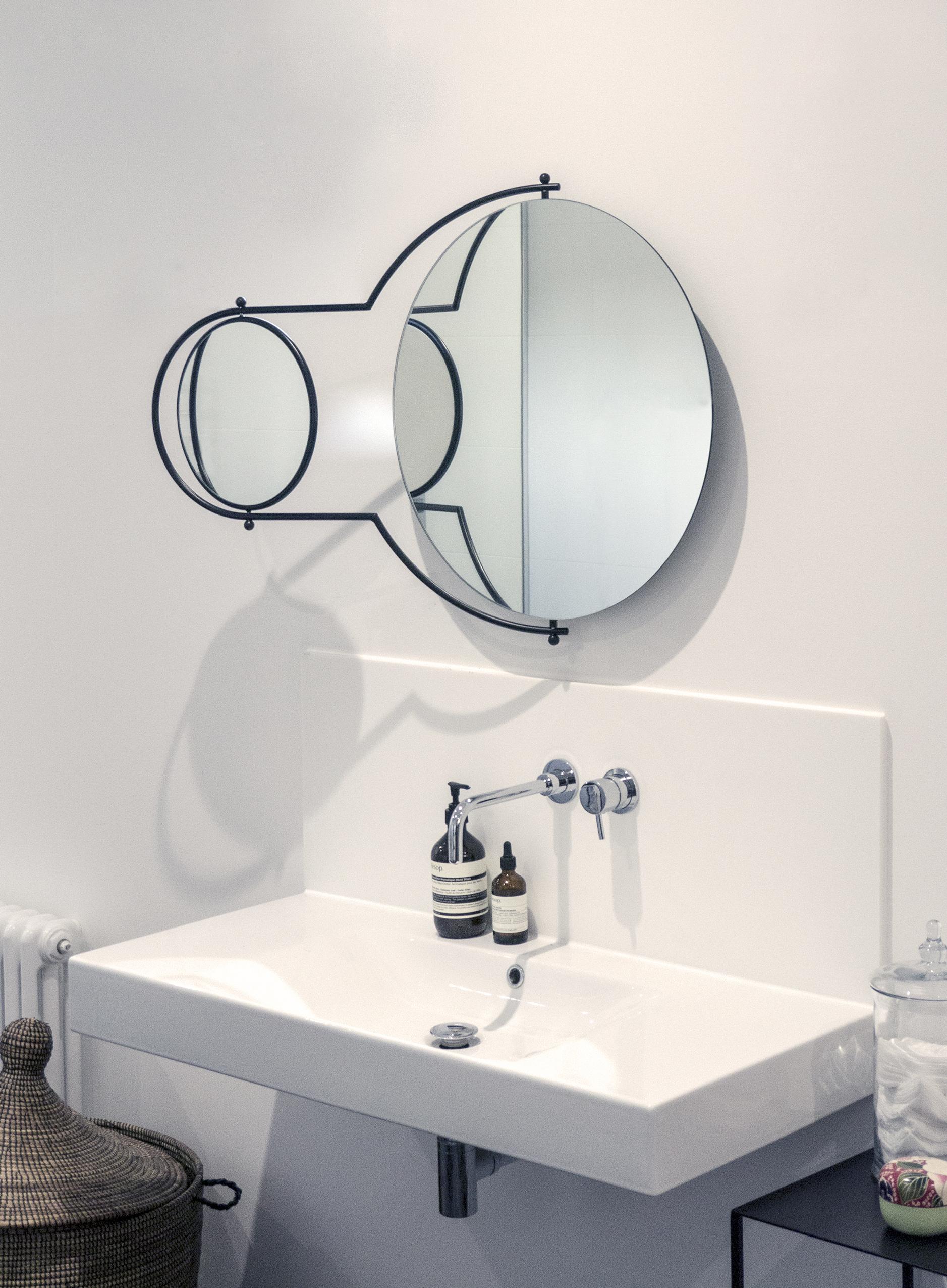 OMK 'Orbit' Mirror - Designed 1981