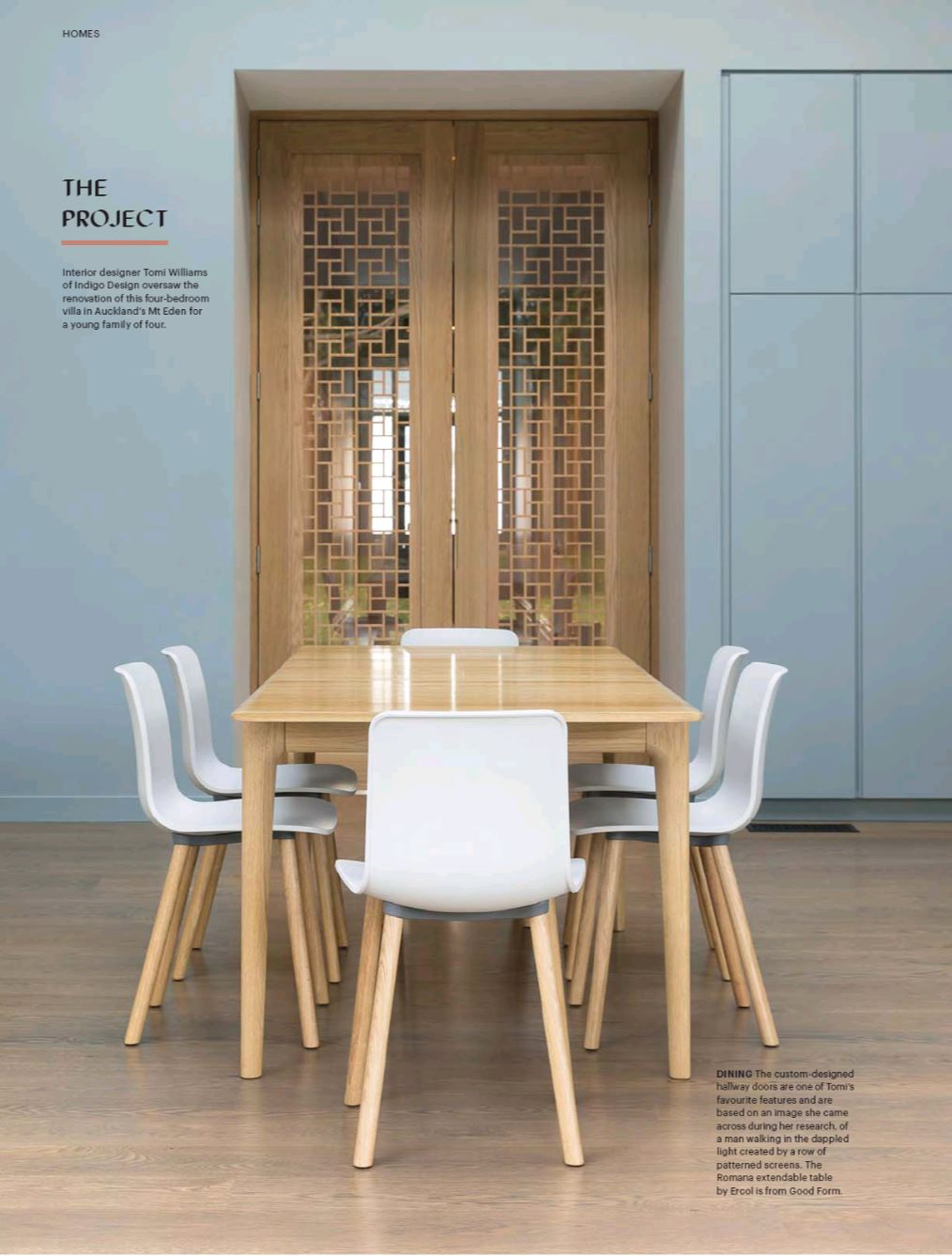 Featured: Ercol 'Romana' Dining Table