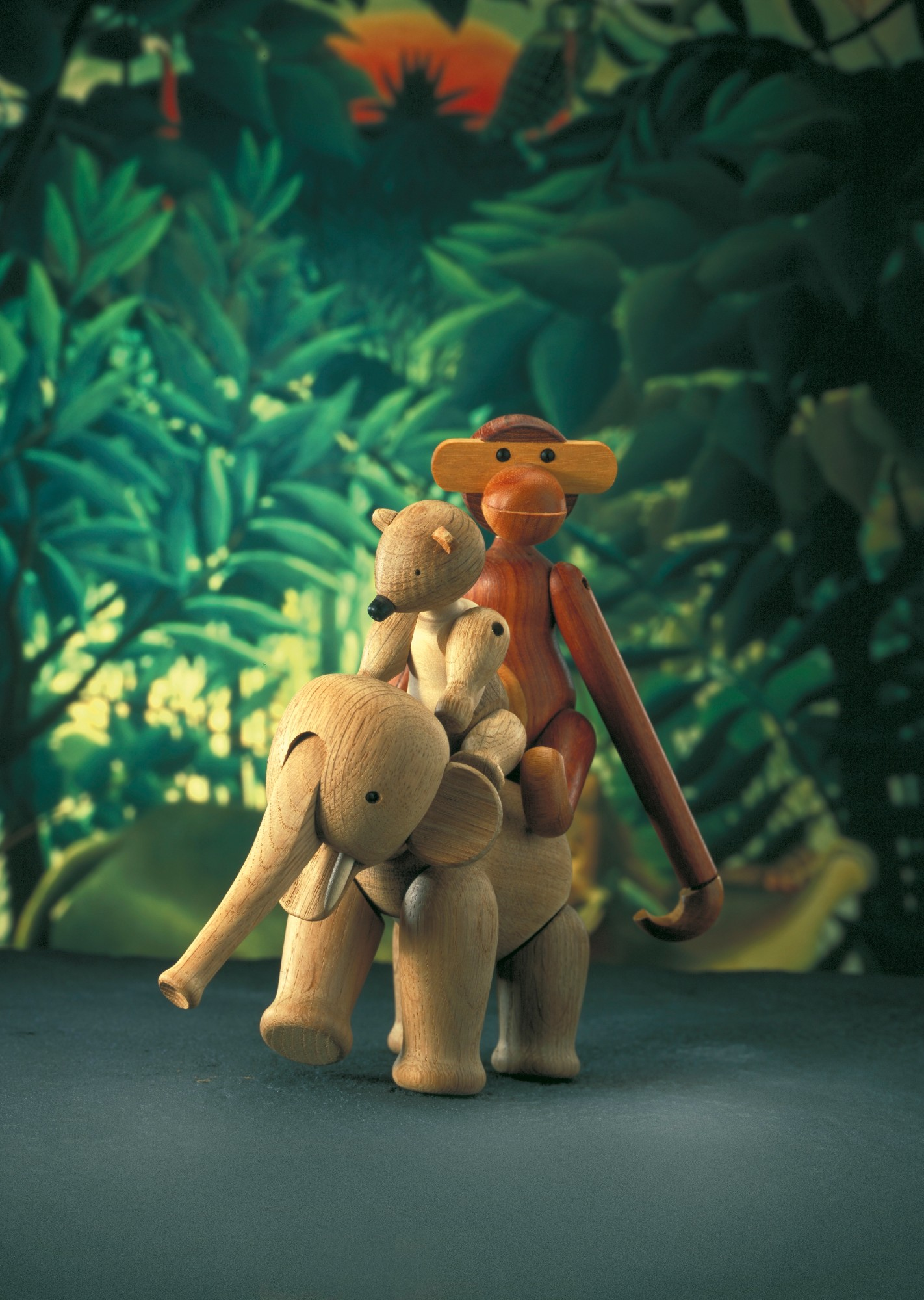Featured: Monkey, Bear and Elephant by Kay Bojesen