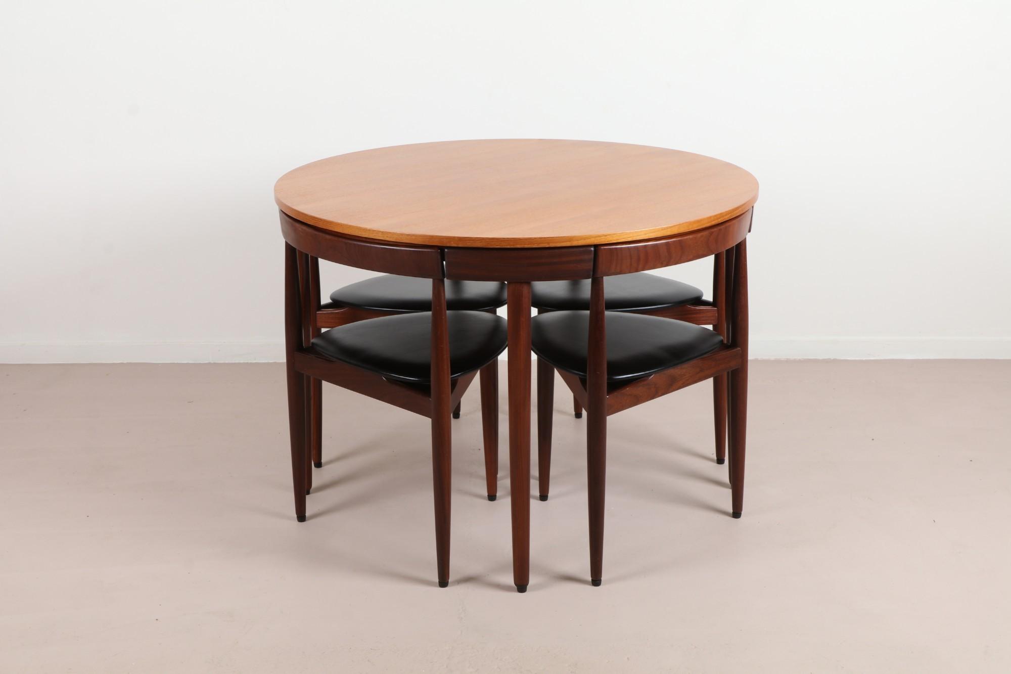 Hans Olsen 'Roundette' Dining Suite for Frem Rojle Image Credit: Mr Bigglesworthy