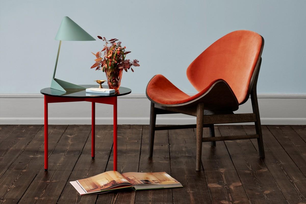 Hans Olsen 'The Orange' Lounge Chair Image Credit: Warm Nordic