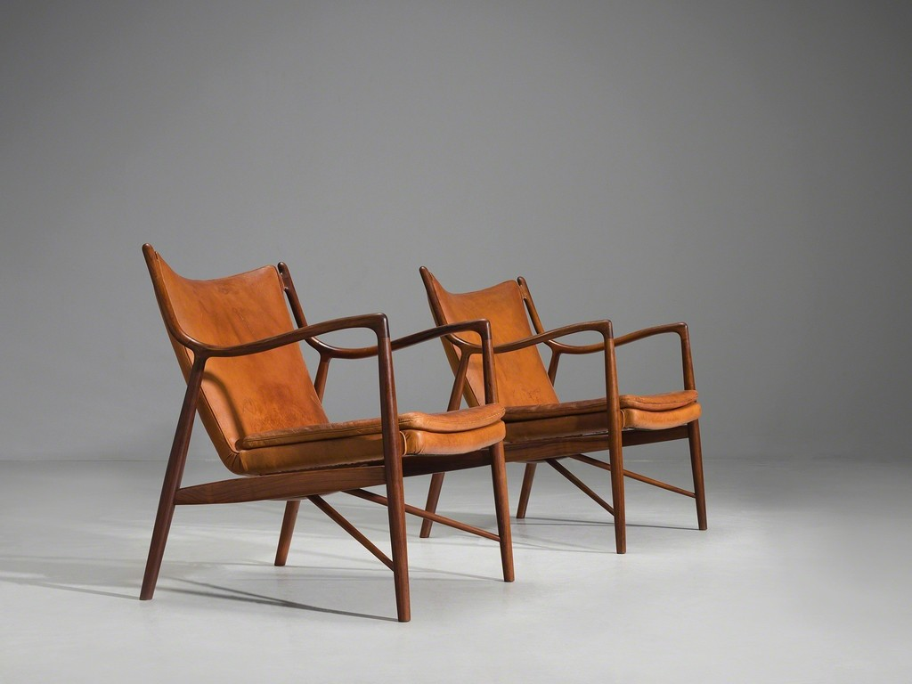 Finn Juhl 'Model 45' Lounge Chair by Niels Vodder Image Credit: Architectural Digest India