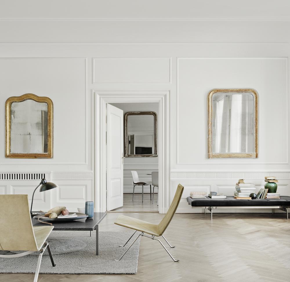 Poul Kjaerholm Designed Furniture Image Credit: Fritz Hansen