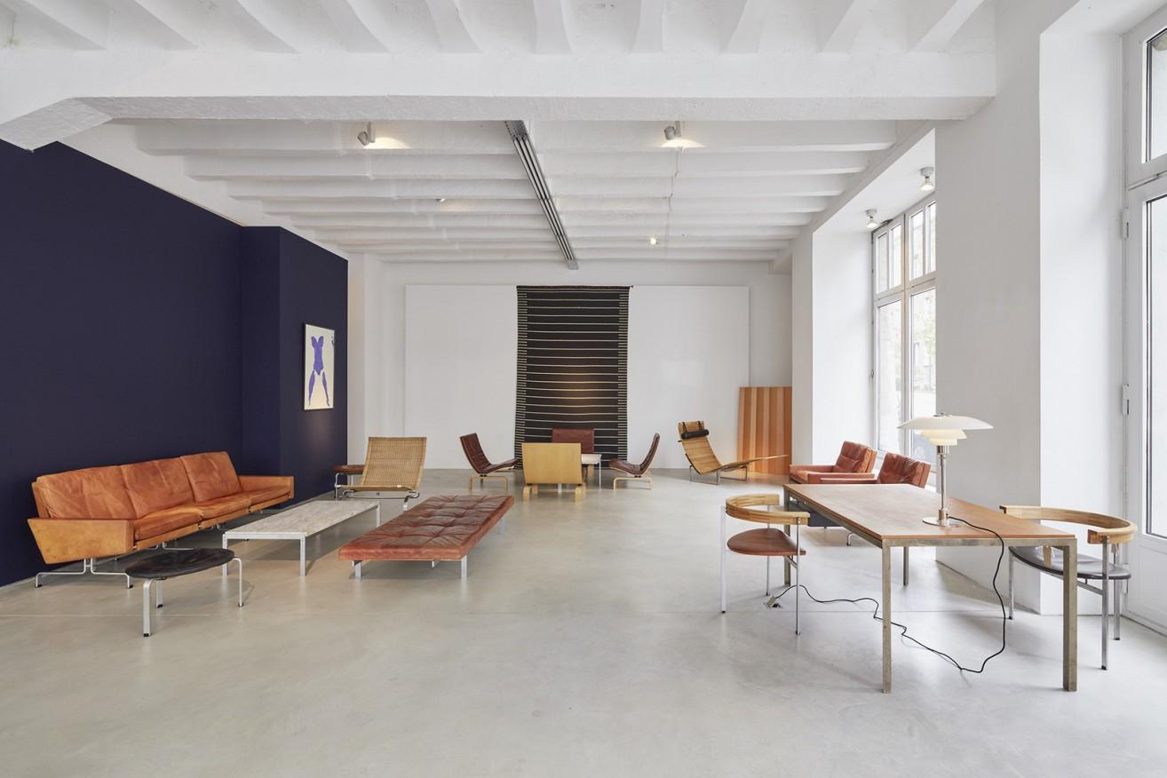 A collection of rare original Paul Kjaerholm designed furniture Image Credit: Jacksons Berlin