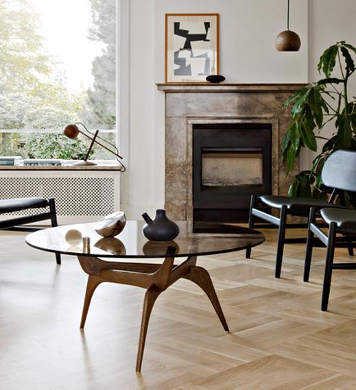 Triiio Coffee Table by Hans Bolling for Brdr. Krüger  Image Credit: Brdr. Krüger