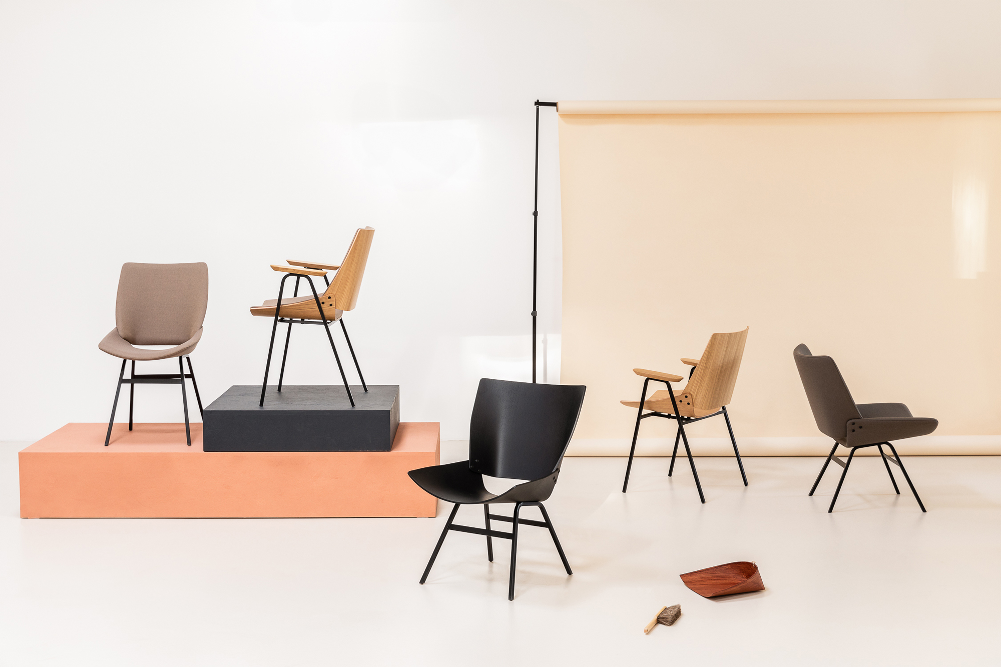 Niko Kralj 'Shell' Chair Range Image Credit: Rex Kralj