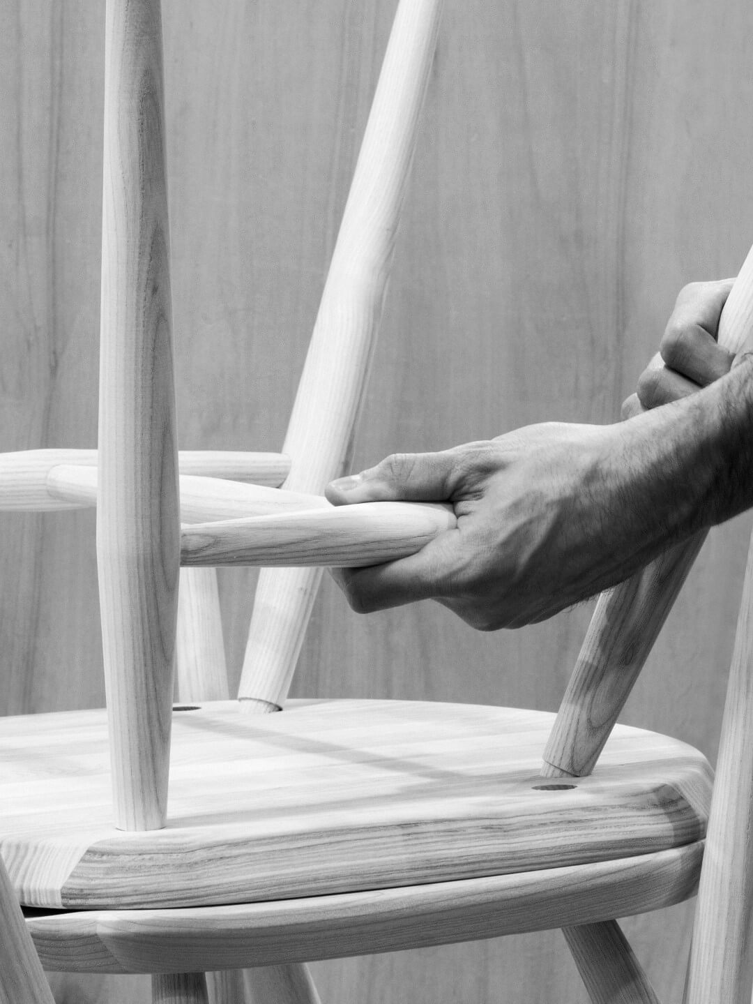 Making an Ercol 'Originals' Stacking Chair