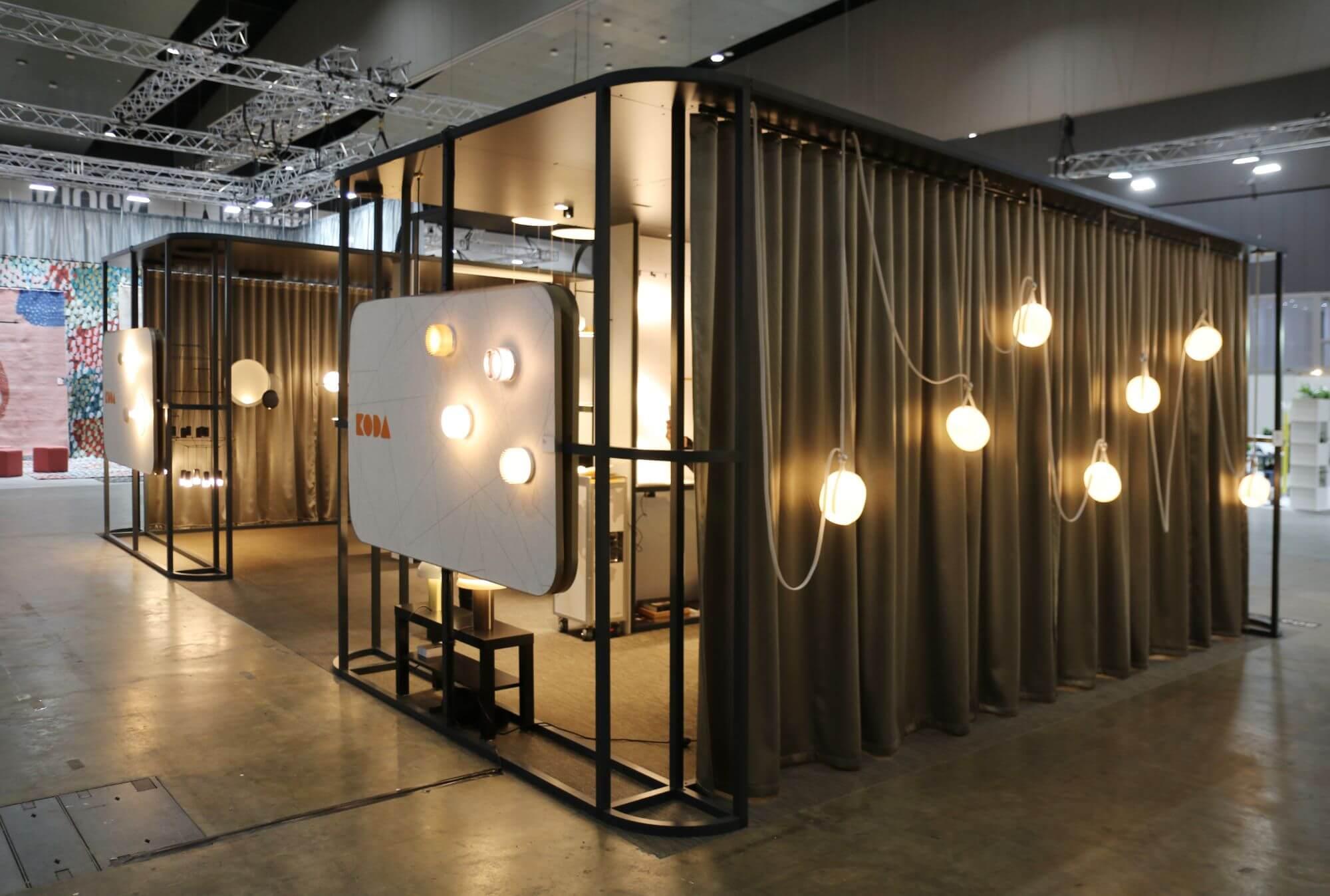 Contemporary lighting design at Koda