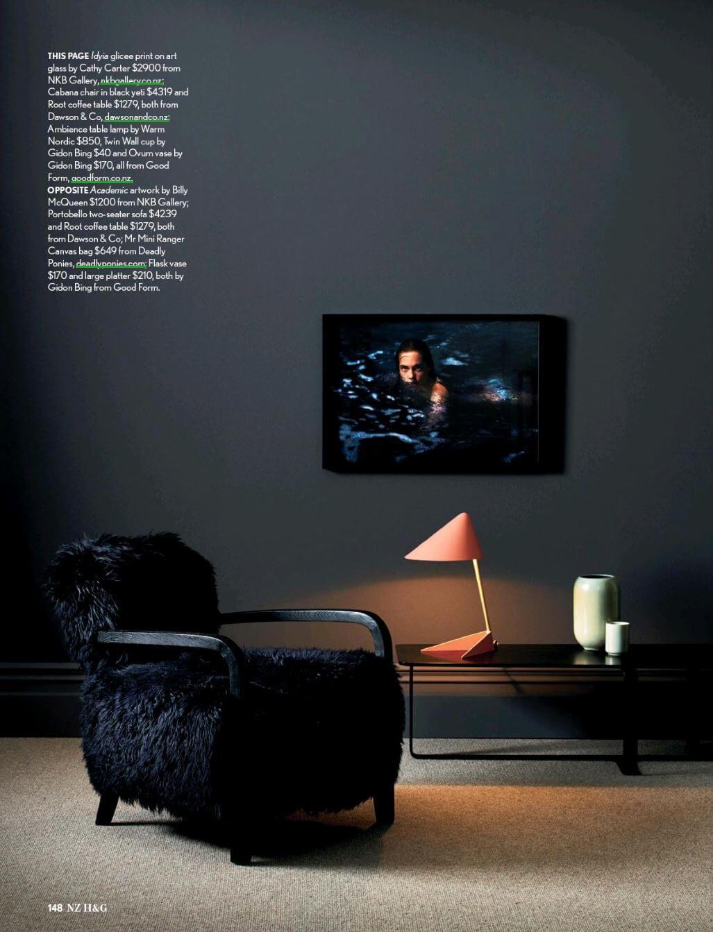 NZ HOUSE & GARDEN  Styling: Sarah Lods Photography: Belinda Merrie