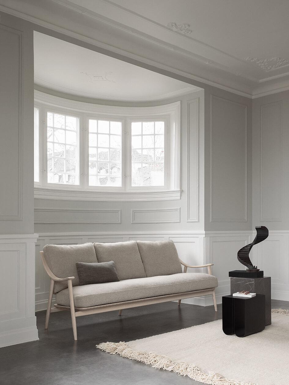Dylan Freeth 'Marino' 3-Seater Sofa. Image Credit: Ercol