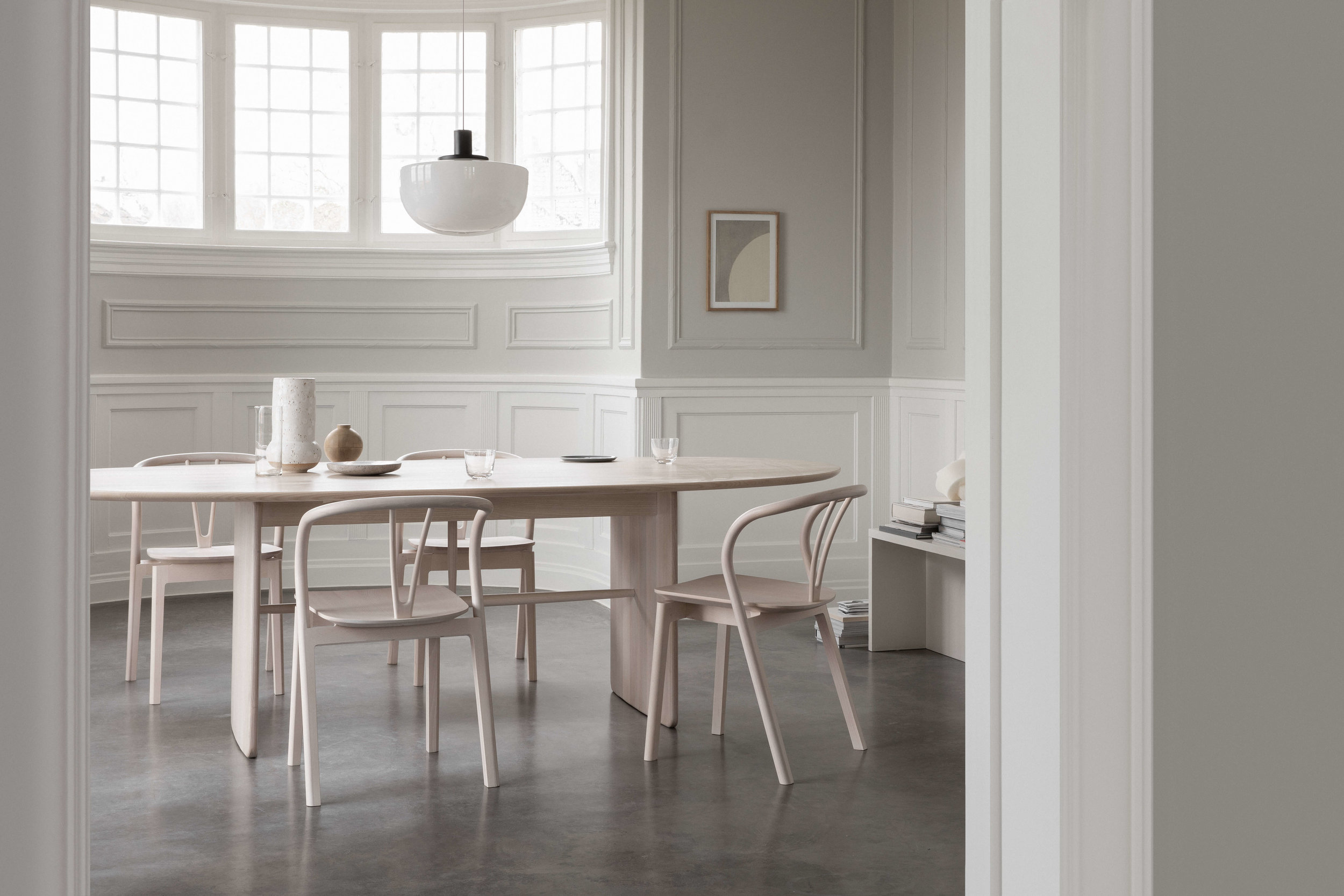 Ercol 'Flow' Dining Chairs by Tomoko Azumi