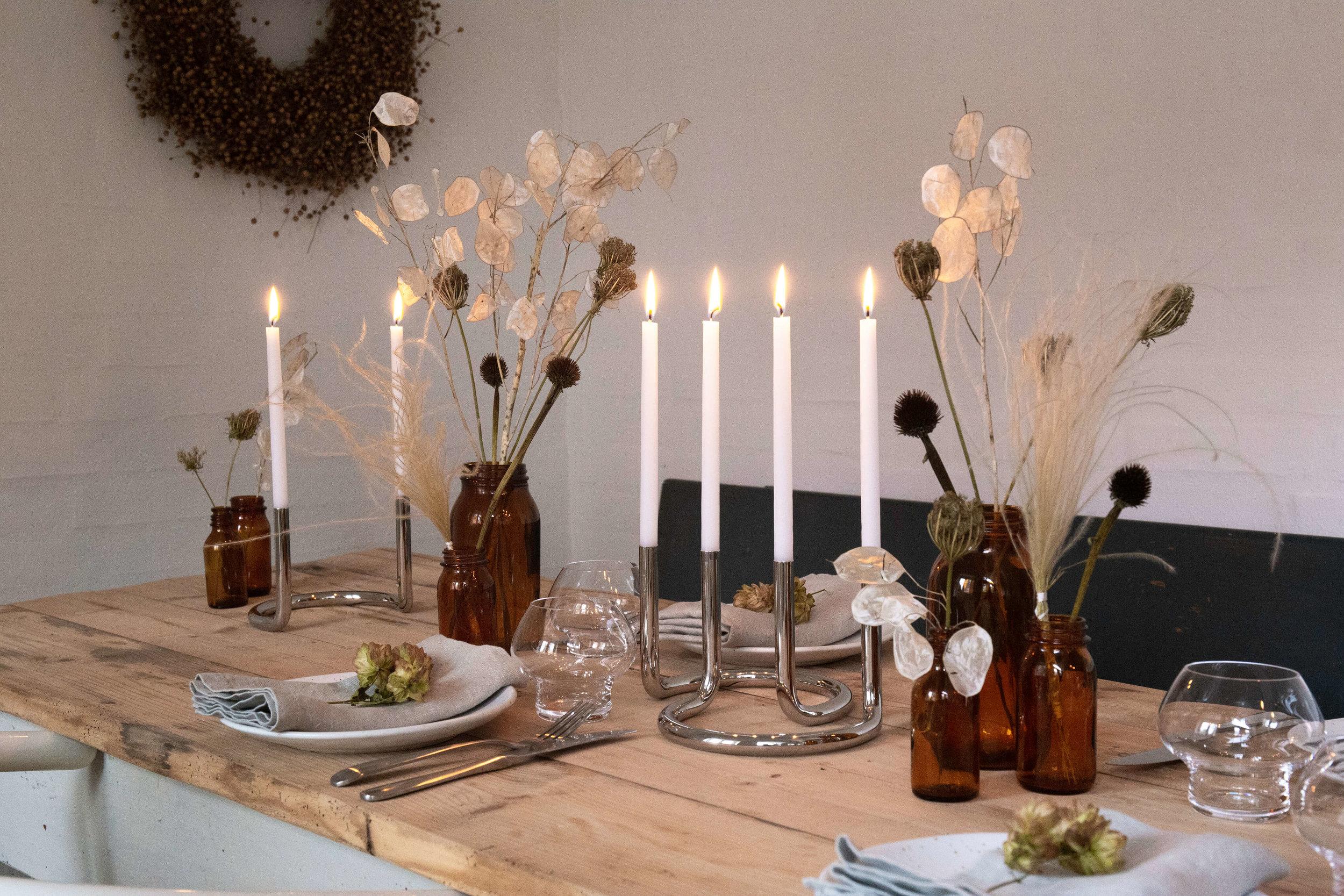 Architectmade Peter Karpf 'Gemini' Candle Holders