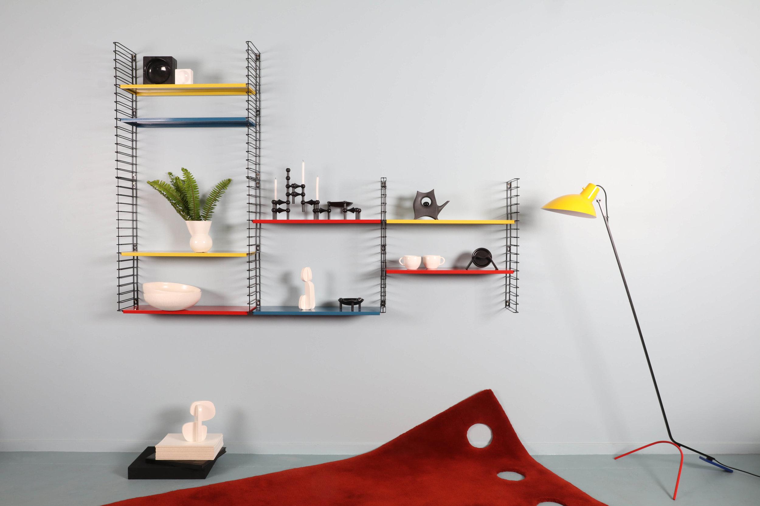 Good Form: Adriaan Dekker Shelving System – Mondrian Tomado
