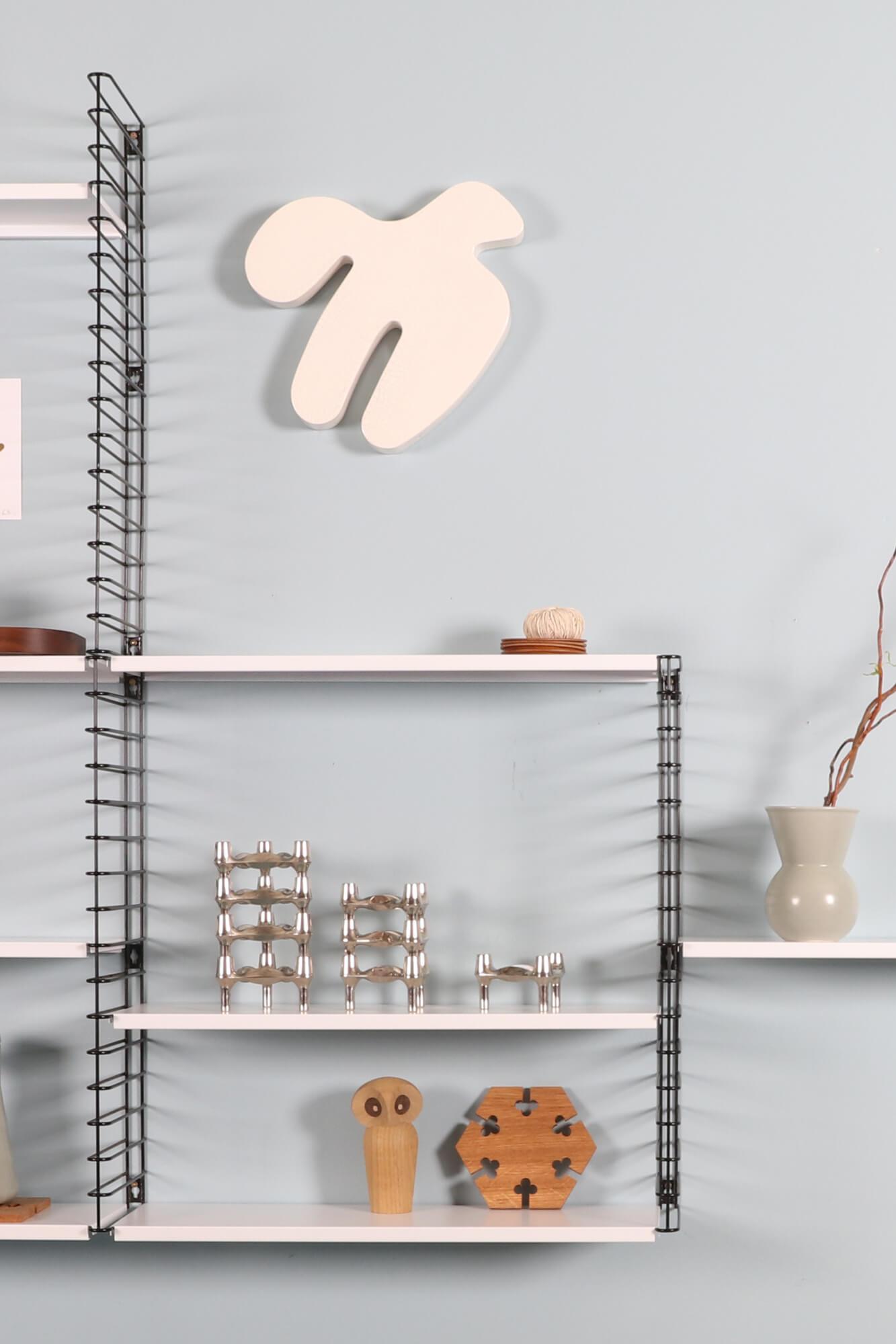 Good Form: Adriaan Dekker Shelving System – Black and White Tomado