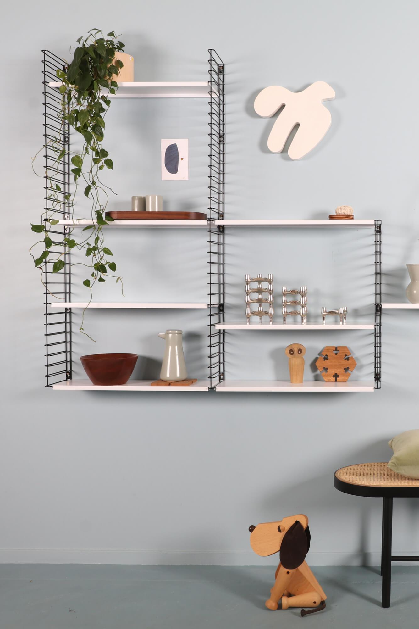 Tomado String Style Modular Wall Shelving