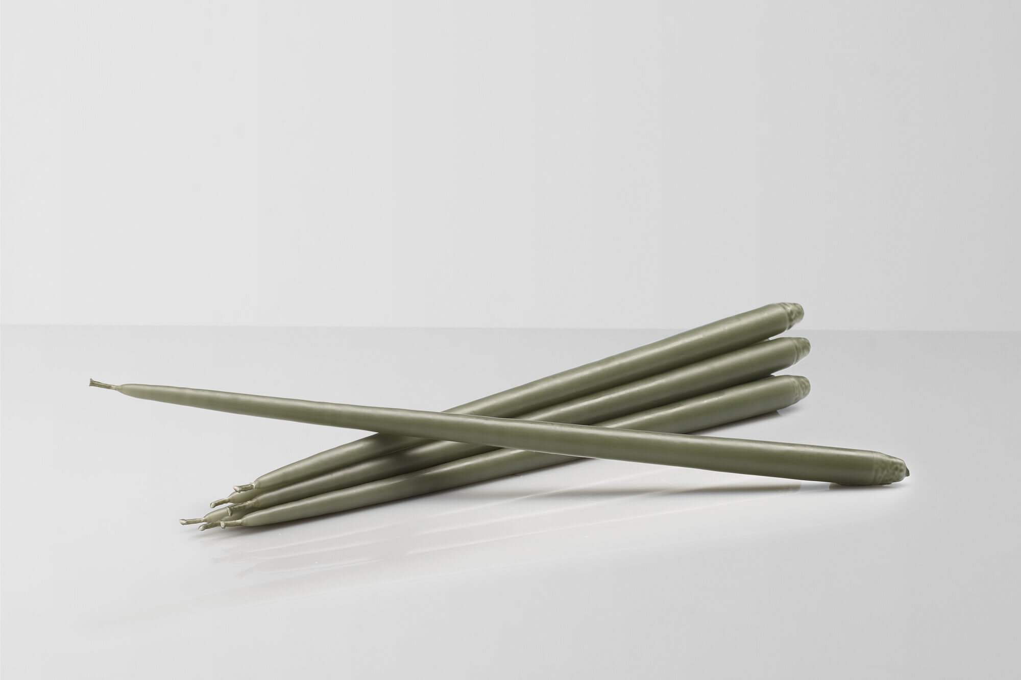 Brand new long tapered candles by Danish brand Ester&Erik are available in a range of 5 colours