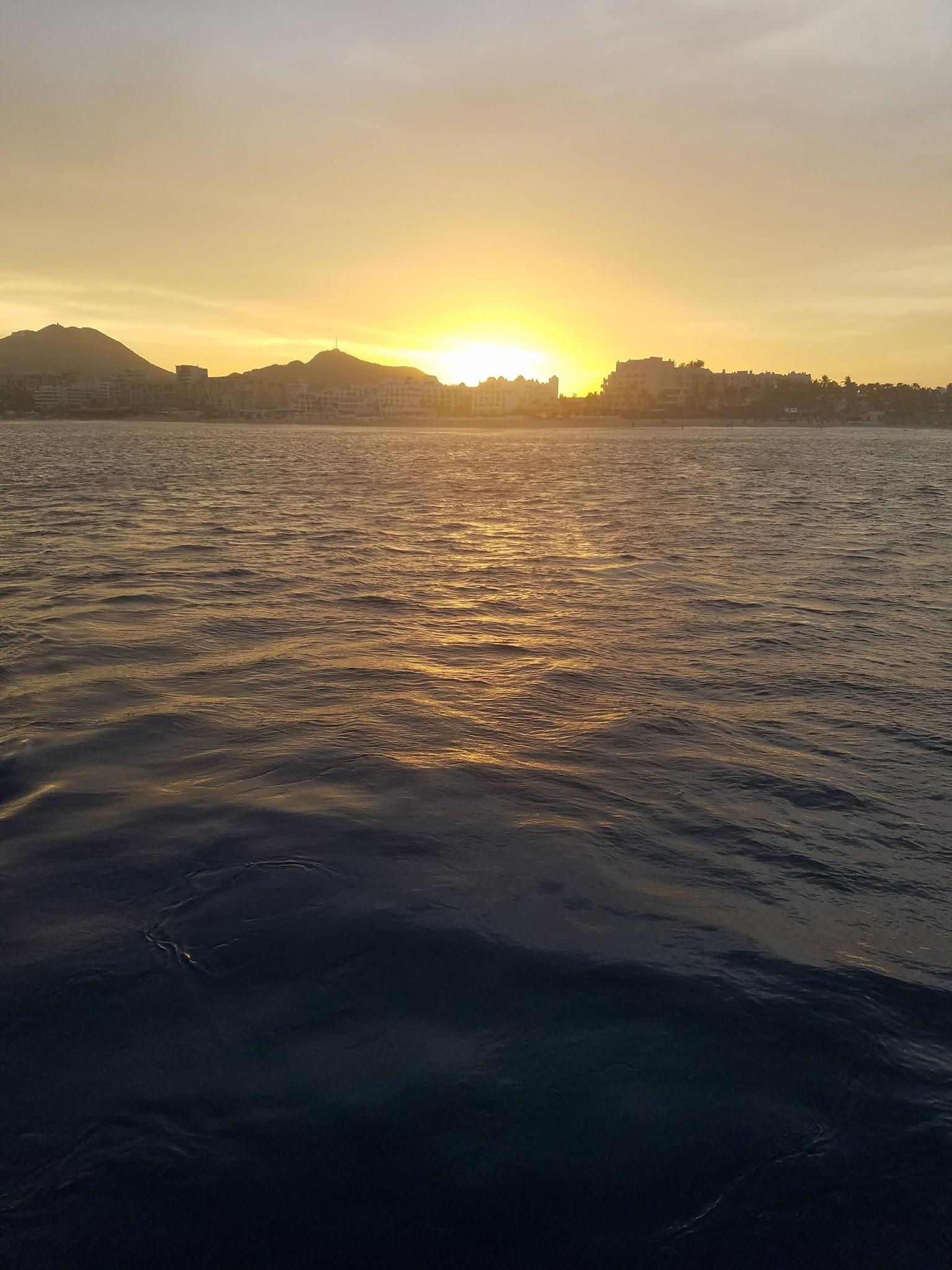 Sunset off the coast of Cabo San Lucas