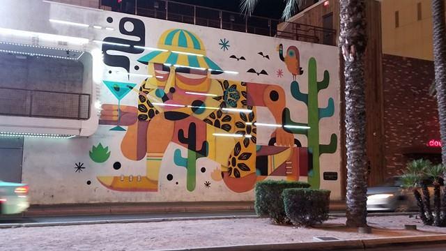 Mural near Fremont Street