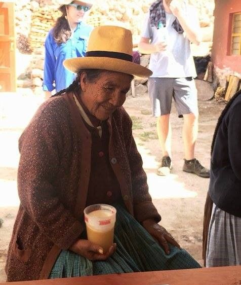 """Tasting """"chicha"""" with the locals"""