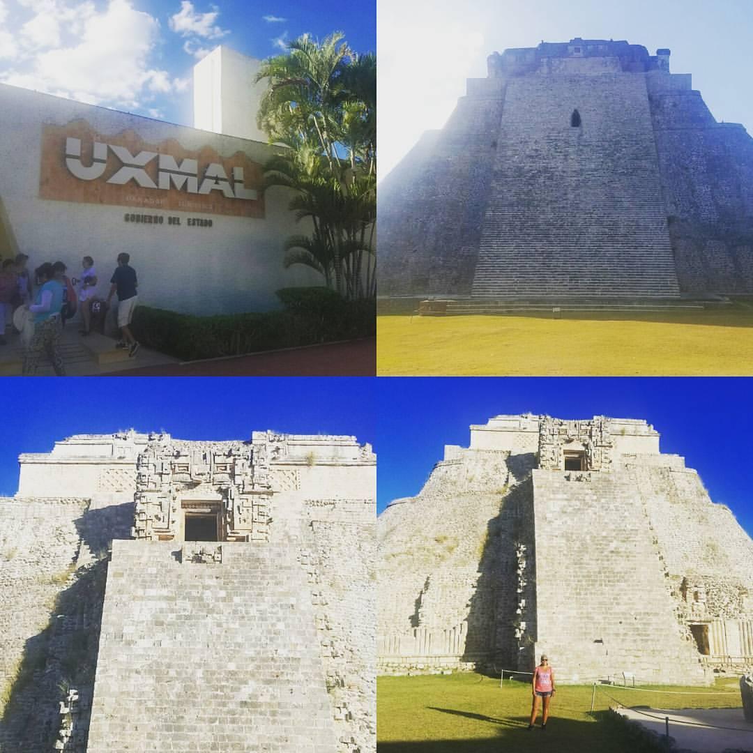 Ancient ruins of Uxmal
