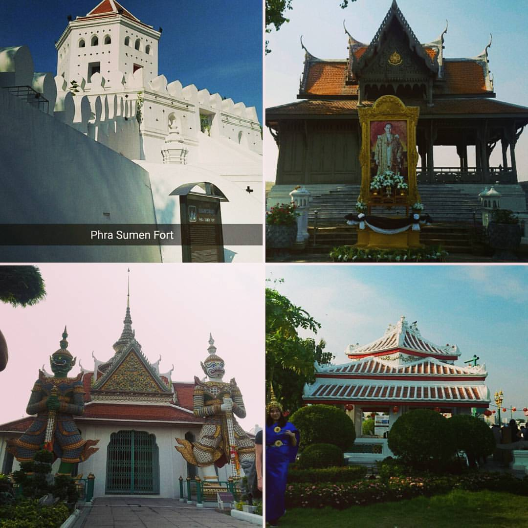 Second day sight seeing in Bangkok