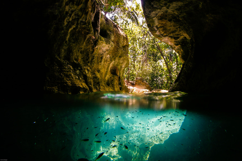 ATM Cave Entrance
