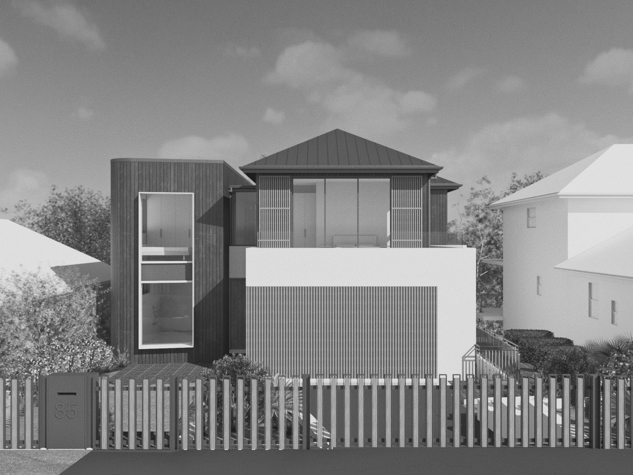Lane Cove Project 1 - New dwelling