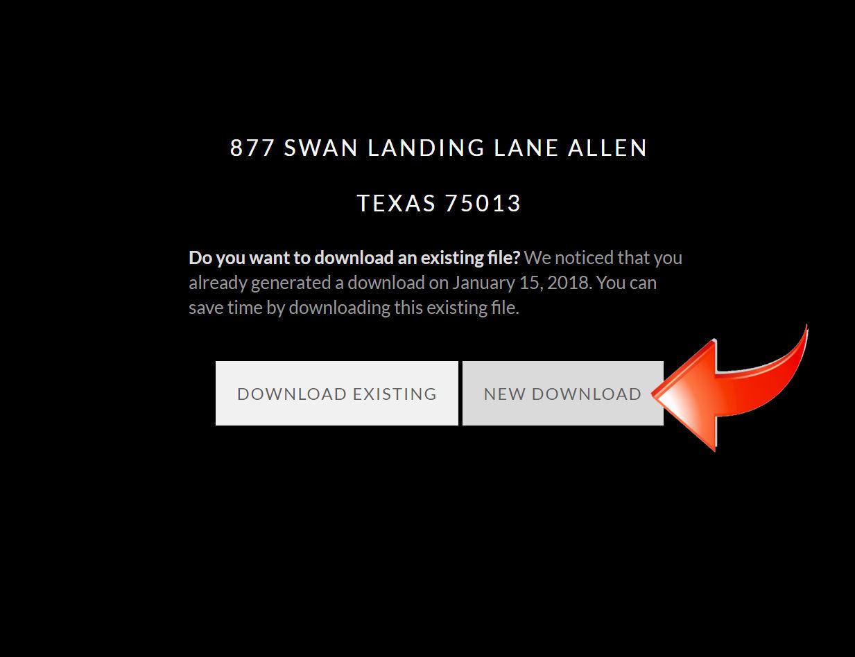 Click 'New Download'