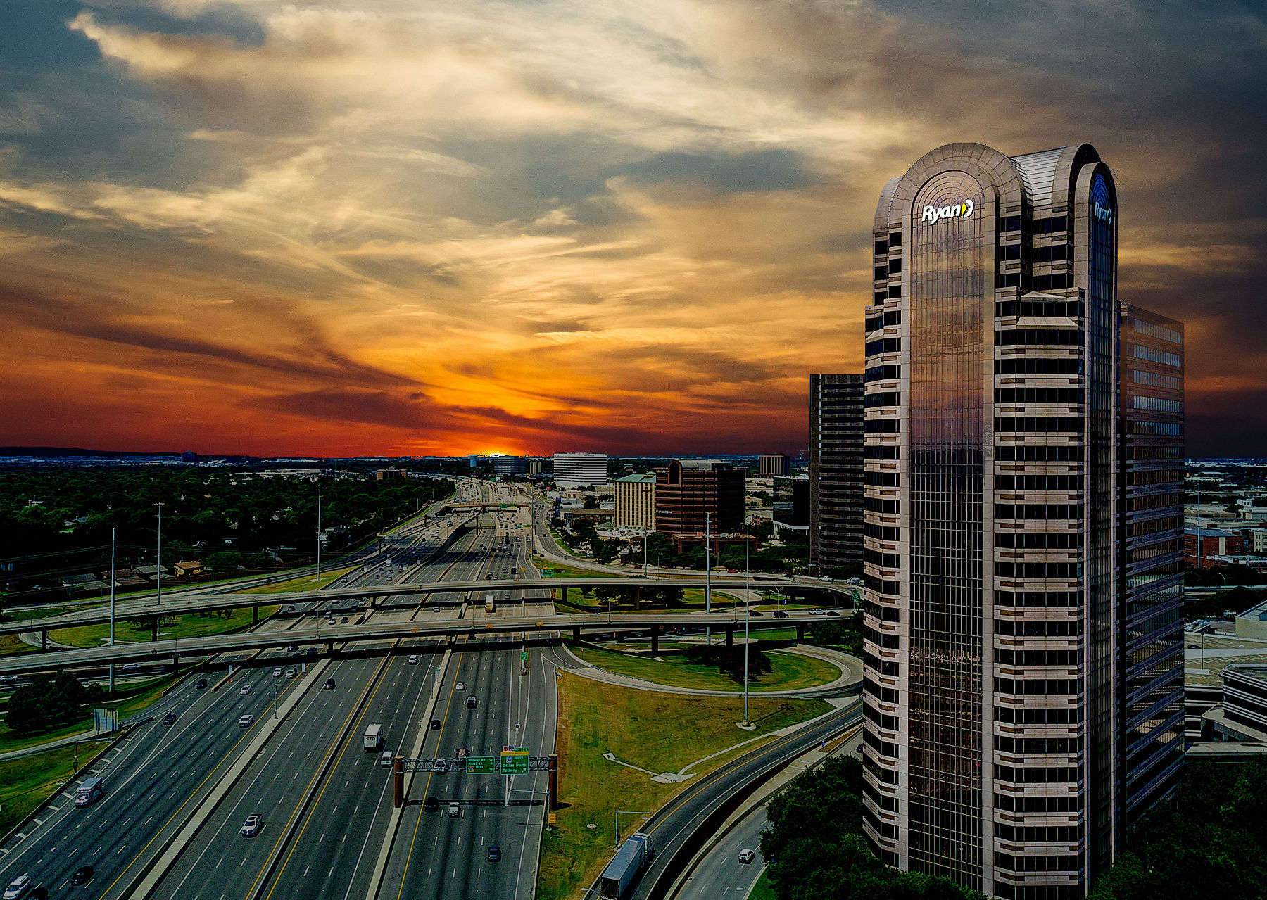 Dallas aerial Photography, Commercial Real Estate.jpg