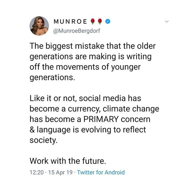 I have nothing to add. This speaks volumes for itself and you can 💯 expect much more content based on these insights for the future in the coming months. That's all she wrote :) . . #essarising #equity #sustainability #systems #action #youth #leadership #power #climatechange #activism #advocacy #intersectionality #alternativereality #futurethinking #systemsthinking . . Repost: @munroebergdorf