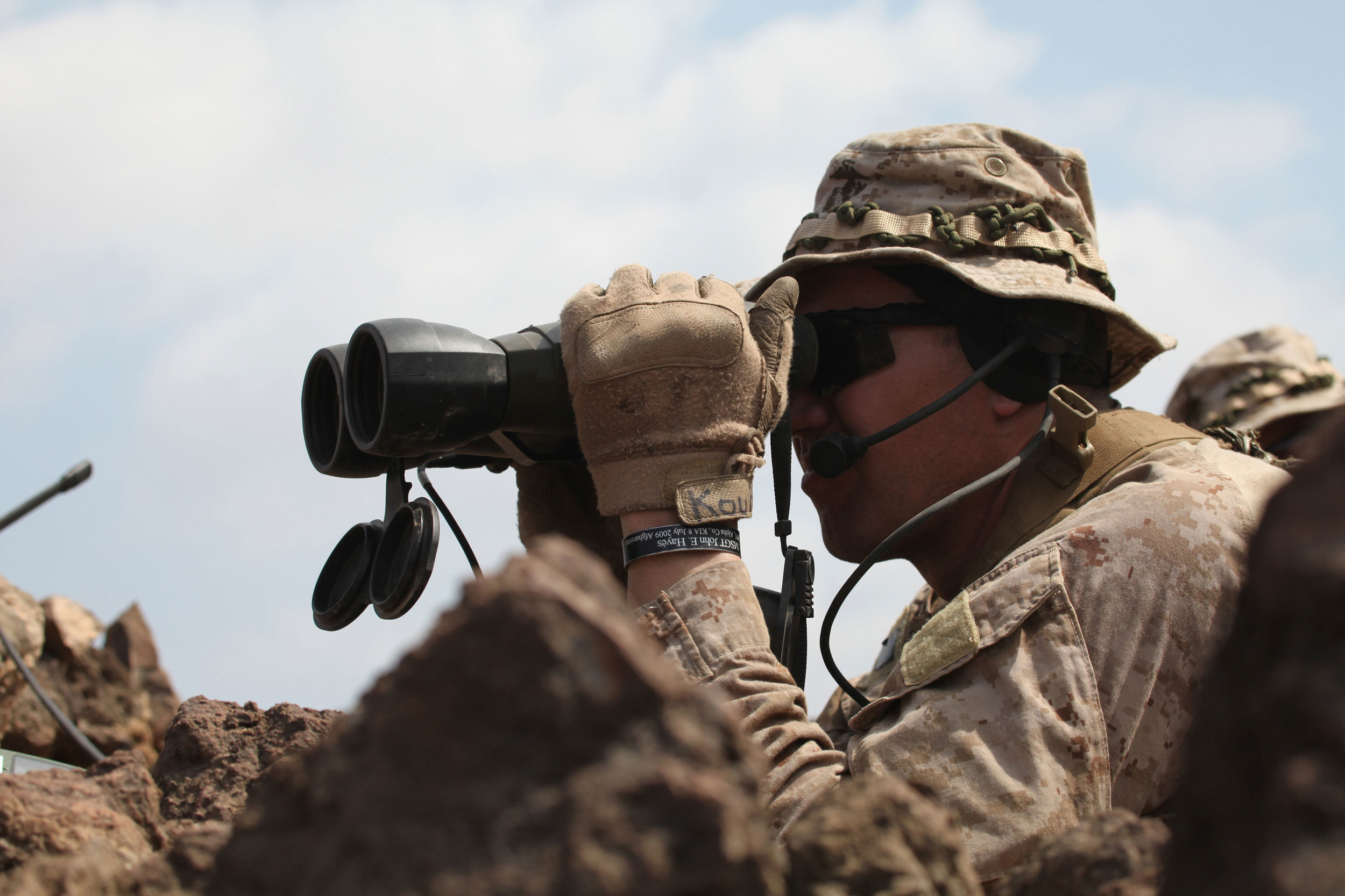 Scouting became primarily a military activity. - This photo shows a Marine Corps Force Recon operating.