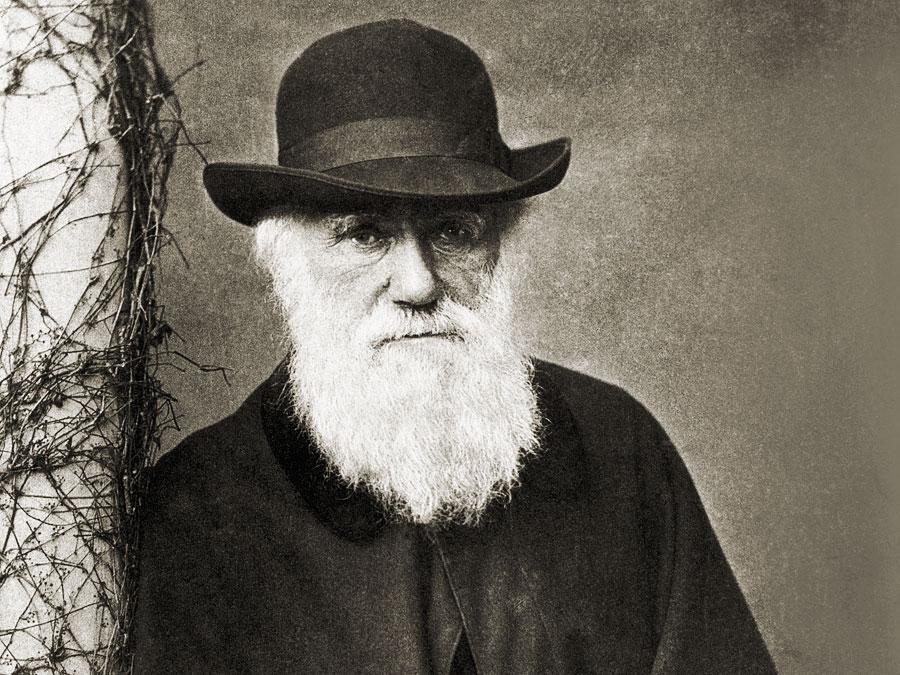 Charles Darwin. -