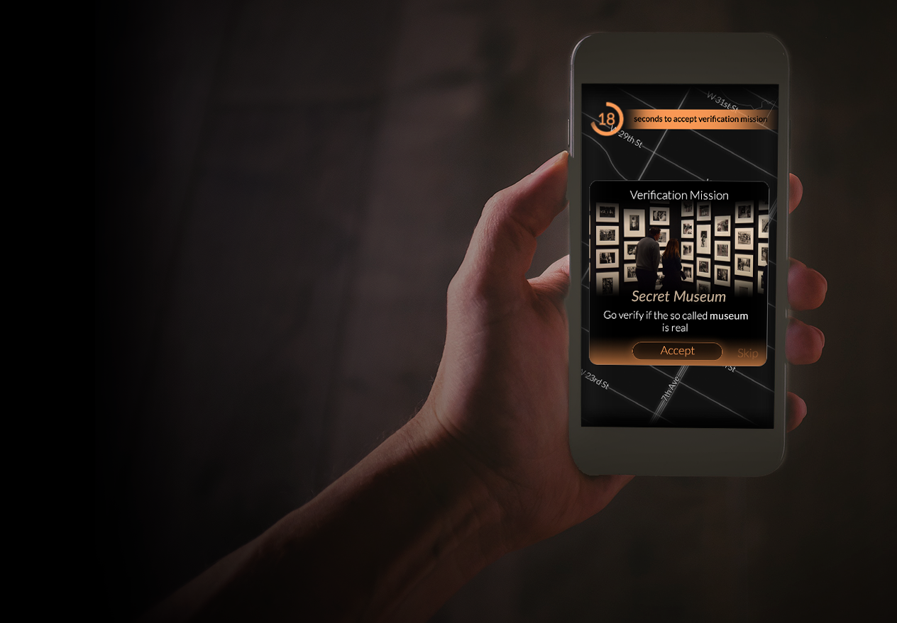 CityXcape is an app to find secret spots. -
